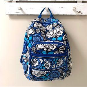 VERA BRADLEY▪️Blue Bayou Floral Backpack. OS